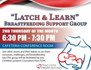 Latch & Learn @ Thayer County Health Services: Cafeteria Conference Room