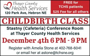 Childbirth Education Class @ Thayer County Health Services: Stastny (Cafeteria) Conference Room