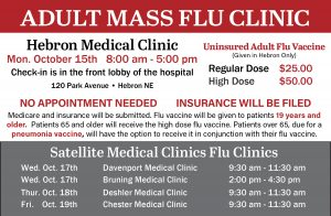 Adult Flu Clinic - Davenport