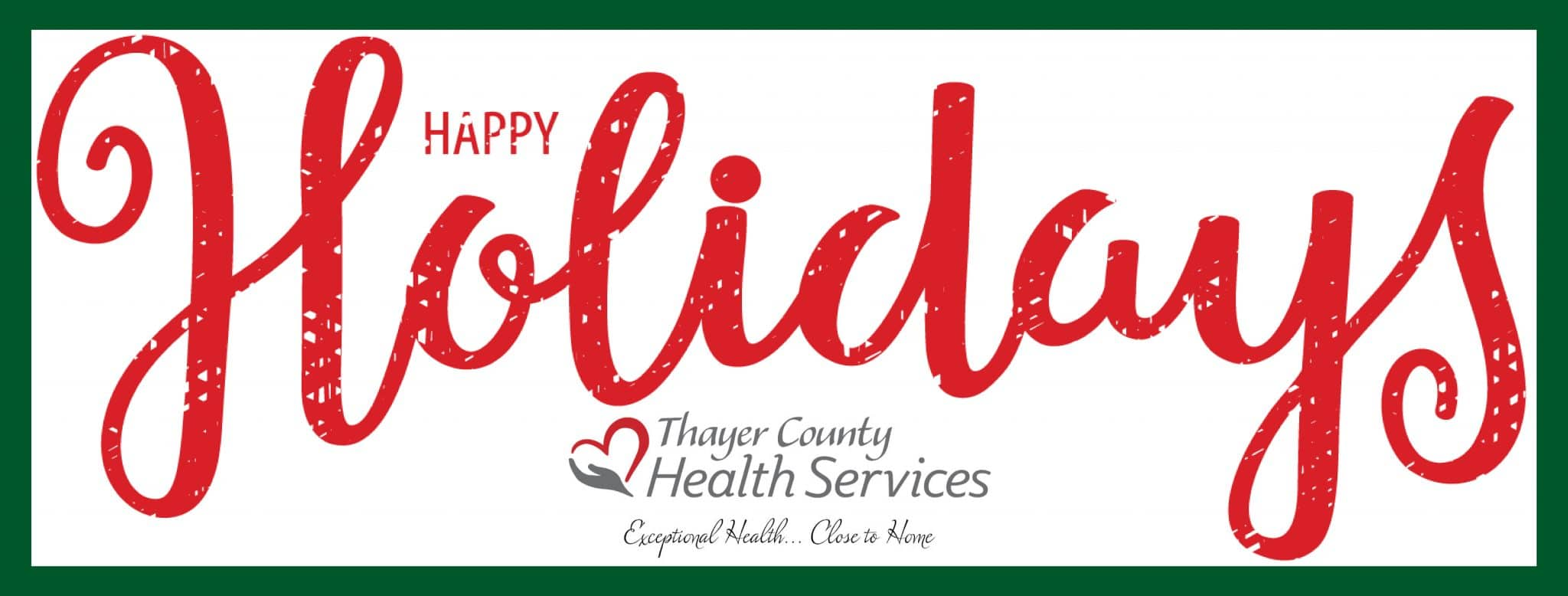 Happy Holidays from TCHS