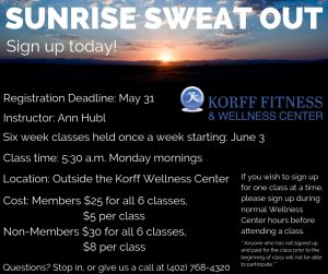 Boot Camp Fitness Classes @ Korff Fitness and Wellness Center