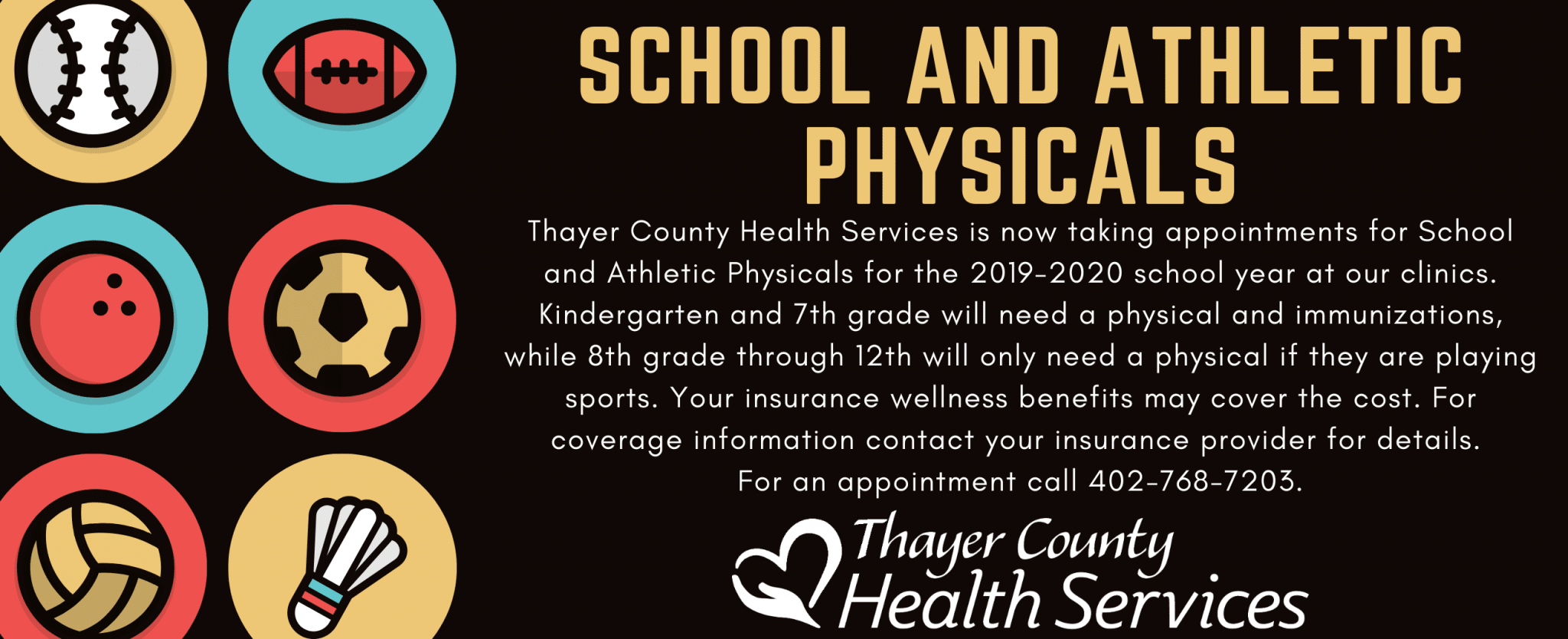 School and Athletic Physicals