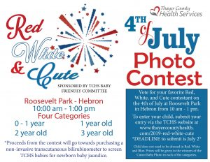Red, White, & Cute @ Roosevelt Park - Hebron, NE