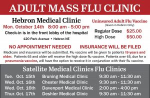 Mass Flu Clinic - Hebron