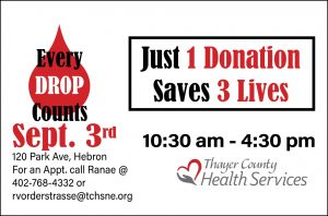Red Cross Blood Drive - Critical Need
