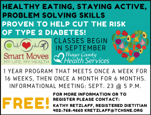 Smart Moves Informational Meeting @ Thayer County Health Services