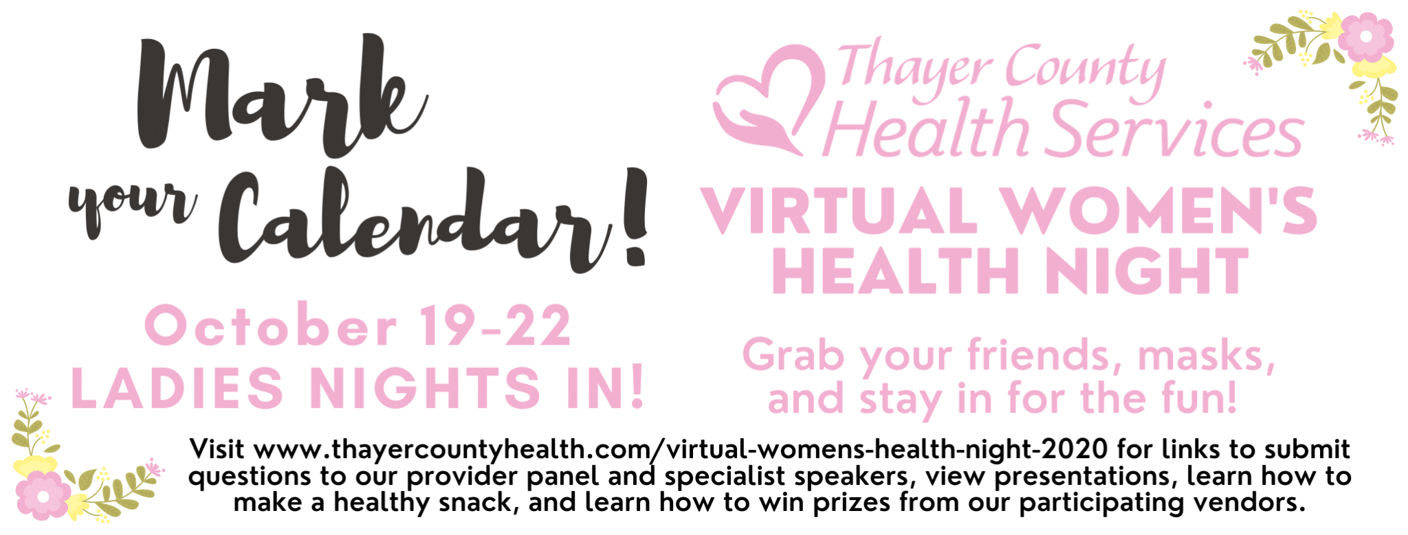 Virtual Women's Health Night