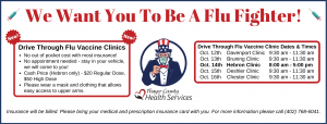 Drive Through Flu Clinic - Davenport @ Davenport Medical Clinic