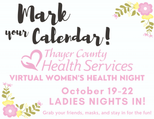 Virtual Women's Health Night @ Virtual - Join us via Facebook or Youtube