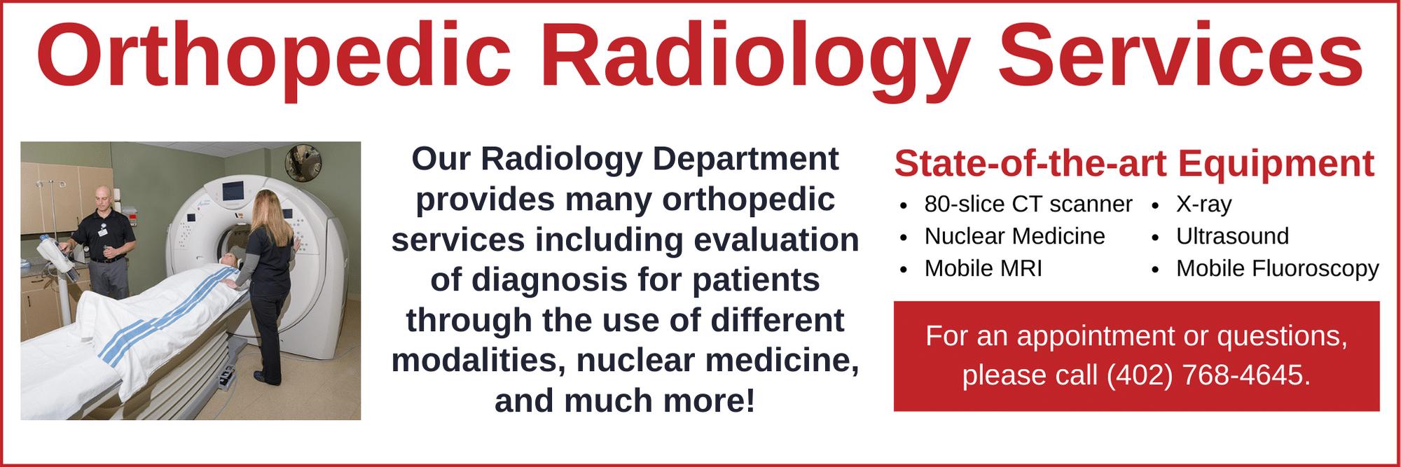 Orthopedic Radiology Services