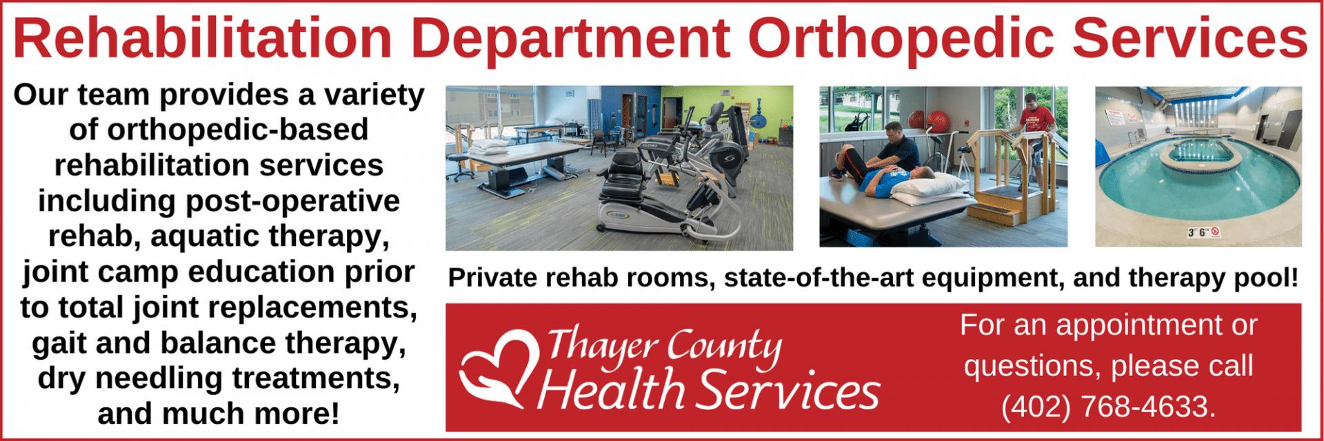 Orthopedic Rehab Services